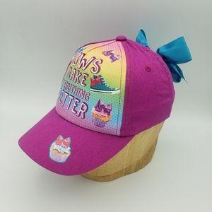 Girl's snapback hat
